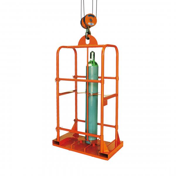 Eichinger Gasflaschen-Transportgestell 1328 in orange lackiert