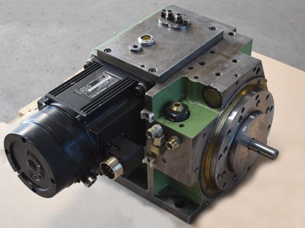 Werkzeugrevolver 8-fach Revolversystem Drehmaschine Indramat MAC092A-0-DD-2-C