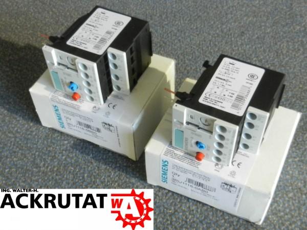 Siemens 2 Stück Sirius 3RU1116-0AB0 3RU1116-0BB0 E01 Überlastrelais Relais