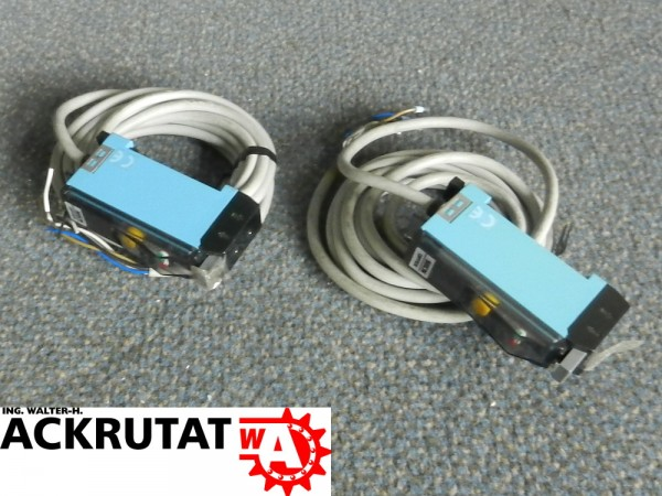 2 Stück Sick Optex WLL160-F122 Lichtschranke Lichtsensor Schalter Sensor