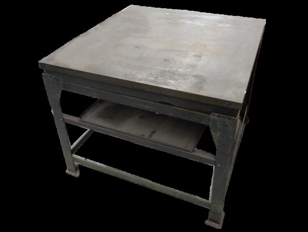 Werktisch Stahl Arbeitstisch Werkbank Tisch Metalltisch Metallbearbeitung