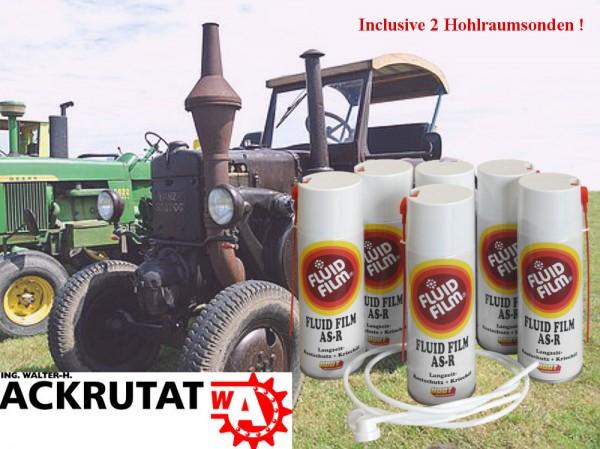 6 x Fluid Film AS-R Traktor Korrosionsschutz Rostschutz Hohlraumversiegelung