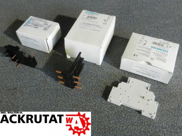 Siemens 3 Stück 3RA1911-1AA0 3RA1931-1A 3RV1901-1B Hilfsschalter Verbindung