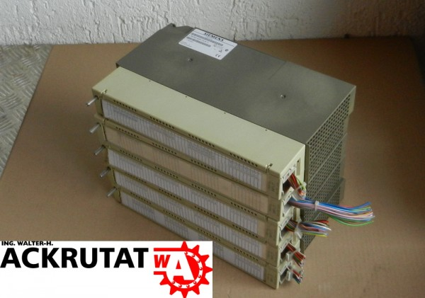5 Stück Siemens Simatic S5 6ES5 420-7LA11 Digital Input Modul E13