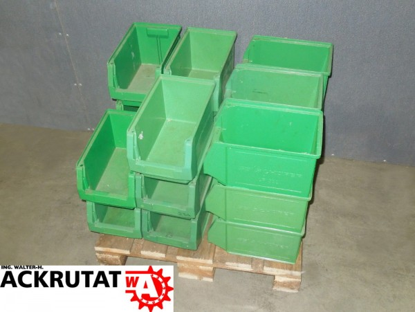 20 Kisten Schäfer LF 322 Sichtlagerkasten Lager-Fix Lager Kiste Behälter Box
