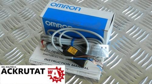 2 Stück Omron E3S-DS10B41 0959G Lichtschranke Lichttaster Laser Sensor