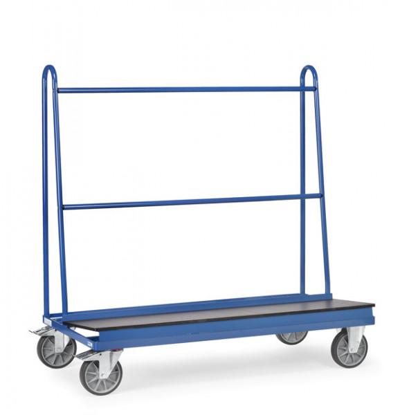 Fetra Plattenwagen 4445 Ladefläche 1.500 x 400 mm 500 kg mit Ladefläche aus wasserfestem Sperrholz