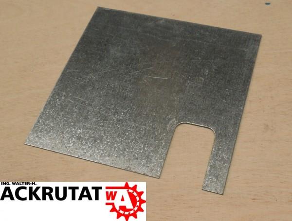 10 Unterlegplatten Schäfer PR350 Palettenregal 1 mm Ausgleichsplatten Platten
