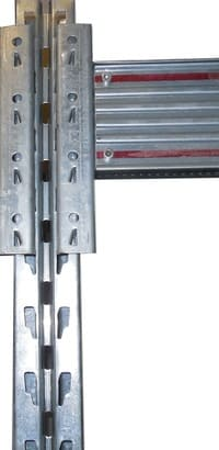 ponteggi Palettenregal Rahmen Profil Raster Lochmuster
