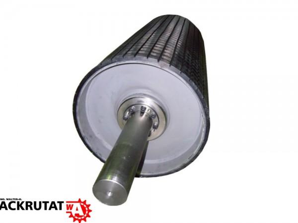 Antriebstrommel Stahltrommel Förderband Trommel Walze RL=600 mm Ø 340 mm