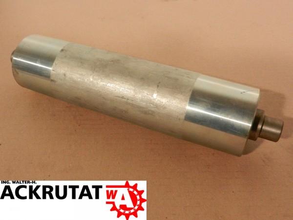 3 x Förderrolle Edelstahl RL 245 mm Ø 65 mm Tragrolle Untergurtrolle Fließband