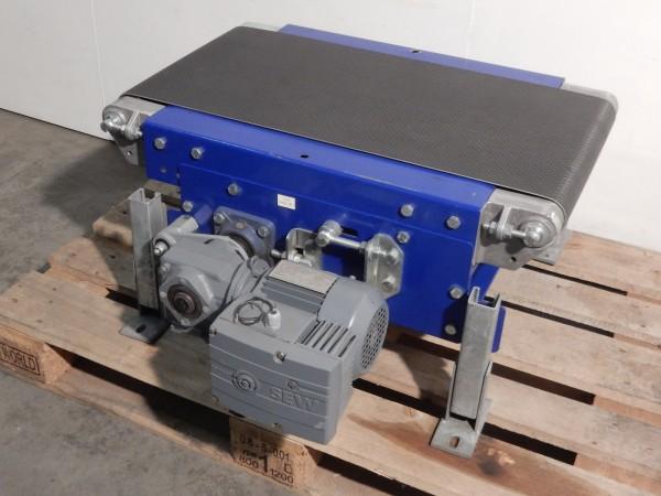 Glattgurtförderband Gurtförderer L800 B440 Stückgutförderer Gurtband