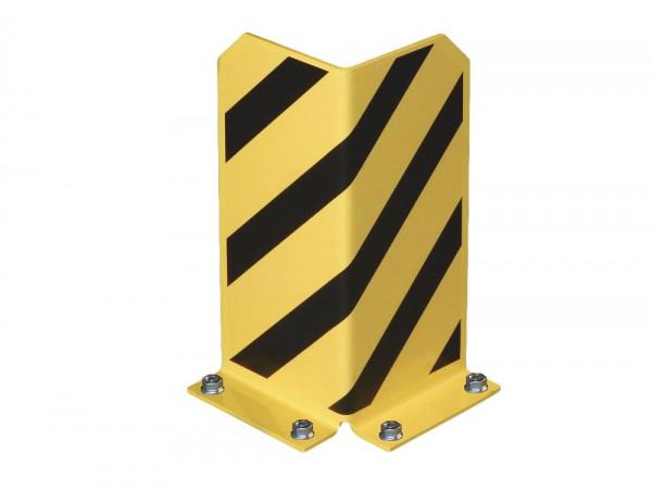 Rammschutzecke L-Form Anfahrschutz H 400 mm 90° Palettenregal Eckschutz inkl. Bodenanker