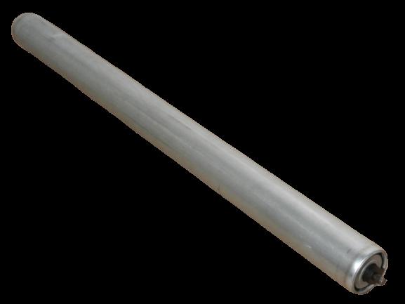 5 Normrolle Tragrolle Untergurtrolle Förderband Rolle RL=640 mm Ø50 mm