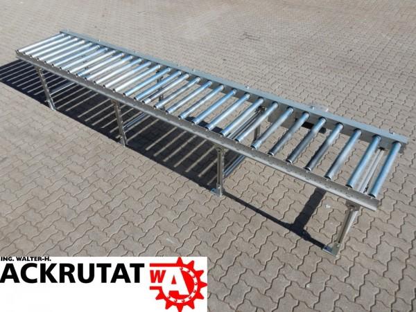 Wegener Stapel Rollenbahn Kettenantrieb 0 75 Kw Forderband