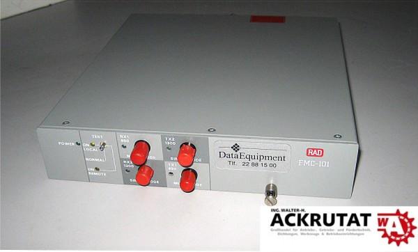 RAD FMC-101 Konverter Signal LWL Glasfaser Fiber Optik
