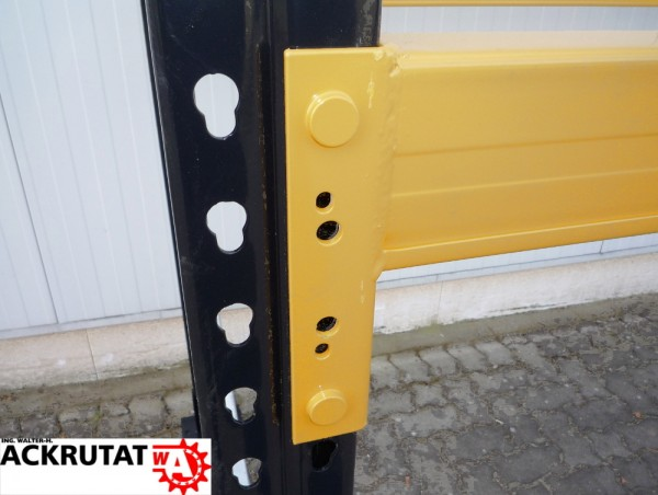 10x Polypal Palettenregal Traverse LW2700 gelb H120 Regal Balken Holm