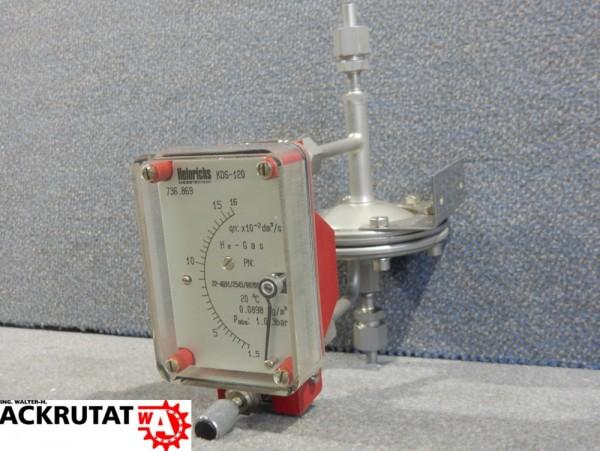 Heinrichs KDS-120 Schwebekörper Durchflussmesser Durchflussmessgerät Typ HN