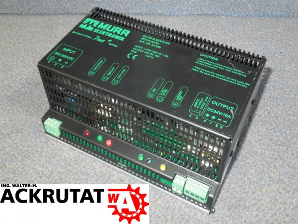 Murr MPD10-220/24 Gleichrichter Modul Konverter 10A 857652 DC/DC Netzteil Trafo