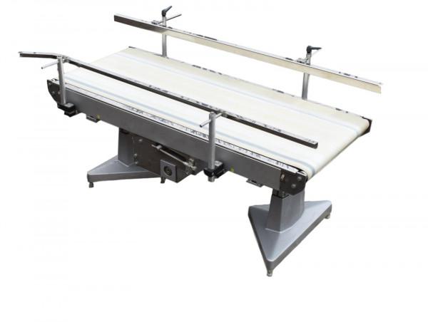 L1500 B550 Förderband Gurtförderer Förderstrecke PVC Glattgurt Gurtförderbahn
