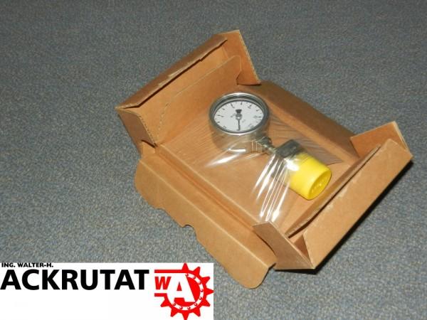 Wika Druckermittler 232.50 Manometer Druckmessgerät Rohrfeder Barometer