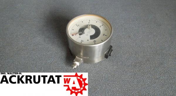 Labom Druckmessgerät YB17411 Signalgeber Sicherheitsdruckmessgerät BE4300 NG160