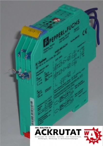 Pepperl + Fuchs KHD2-SR2-EX2.W Trennschaltverstärker