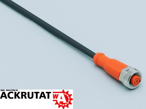 5 IFM Kabeldose Kabel Schleppkabel EVC003 Lichtschranke M12 10 m