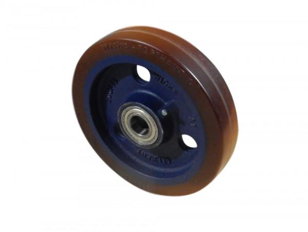Wicke Topthane PG 250/ 50-200/6K Schwerlastrad Polyurethan Bereifung 250 x 50 Rad