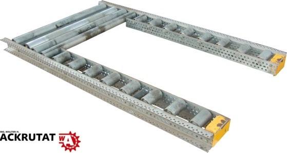 1 66 M Rollenbahn Palettenrollenbahn Aufnahme Forderstrecke