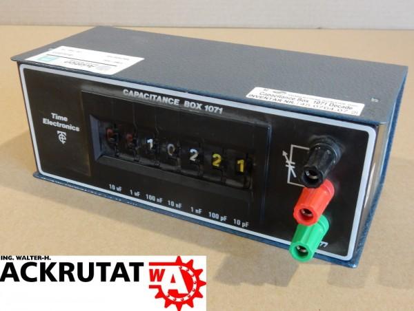 Time Electronics Kapazitätsdekade Typ 1071 Dekadenbox Dekade Bipolar
