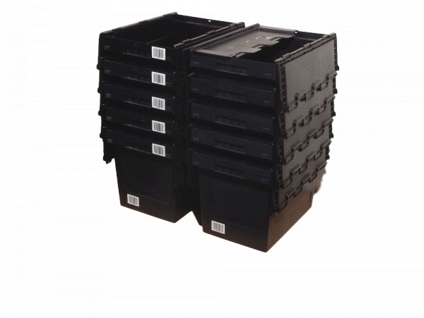 Mehrwegbehälter Bito 10x Industriebox MB 6442 Kiste MBD64 Deckel Box Kasten