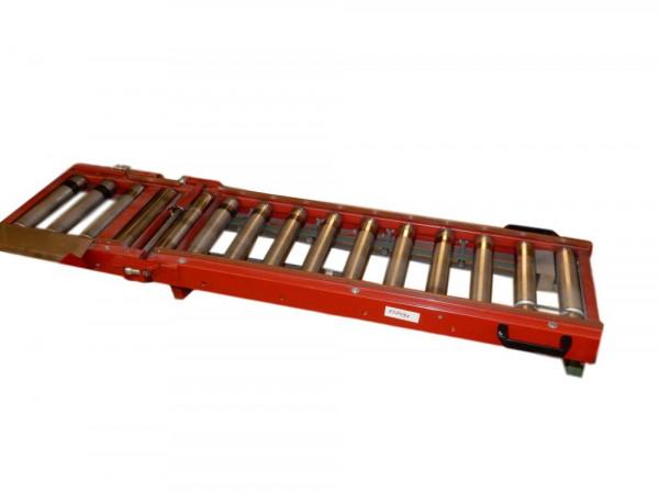 Rollenbahn-Durchgangsklappe L1490 Rollenförderer B325 Förderbahn Rollbahn