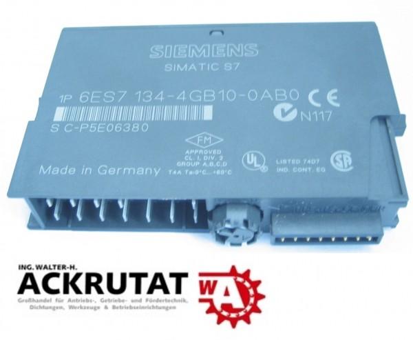 Siemens Simatic S7 6ES7 134-4GB10-0AB0 Steuerung analog
