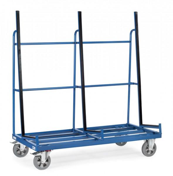 Fetra Plattenwagen 4456 Anlage einseitig mit Profilgummi Ladefläche 2.000 x 800 mm 1200 kg