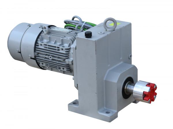 Stirnradgetriebemotor Siemens E88-LA100LB4-IN Elektromotor 3,0 kW IP 55