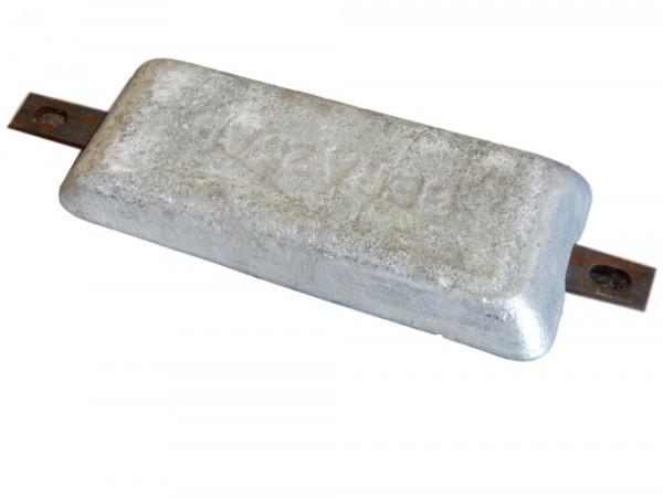 BAC Beralin Anode Bera 25 AL kathodischer Korrosionsschutz Aluminium Opferanode