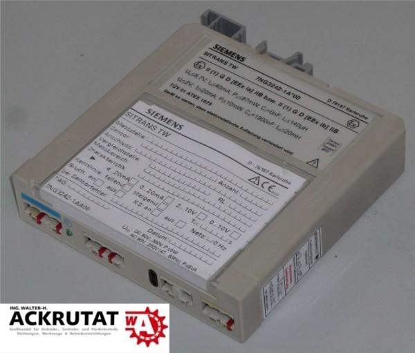 SIEMENS Sitrans TW 7NG3242-1 A*00 Messumformer Wandler