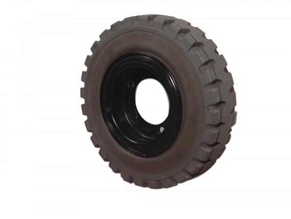Master Solid super elastic Staplerreifen Reifen Vollgummirad Komplettrad