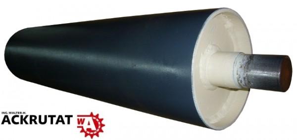 Umlenktrommel Stahltrommel Förderband Trommel Walze RL=750 mm Ø 180 mm