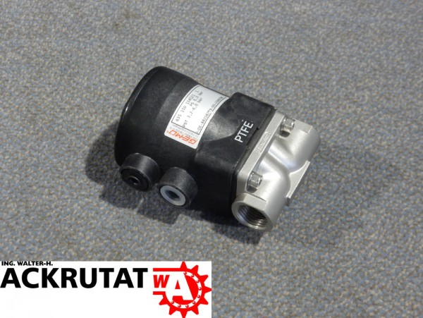 Gemü Membranventil Typ 635 Ventilkörper Kolbenantrieb Optische Stellungsanzeige