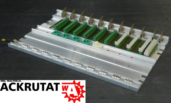 3 Siemens Simatic S5 6ES5 701-LA12 E01 Baugruppenträger Subrack