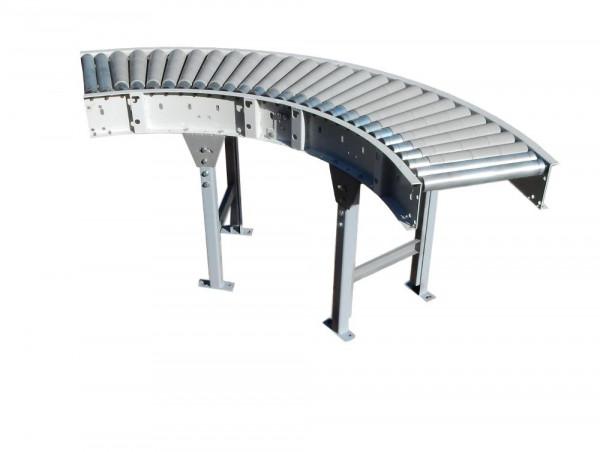 Rollenbahnkurve 90° Rollenbahn Kurve Kurvenförderer Rollenkurvenförderer B430