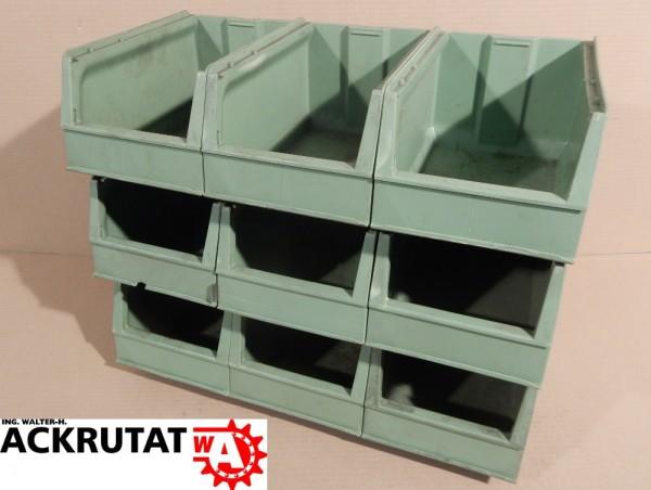 9x Perstorp 9074 Lagersichtbox Boxen Lagerkasten Kisten Arca Sichtlagerkasten