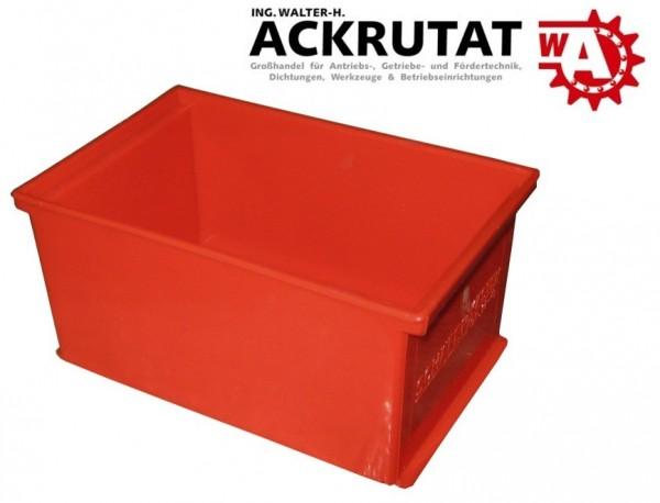 4 Schäfer Lagersichtkasten EK 14-2 Box Kiste Einsatzkasten Kasten f. Regal