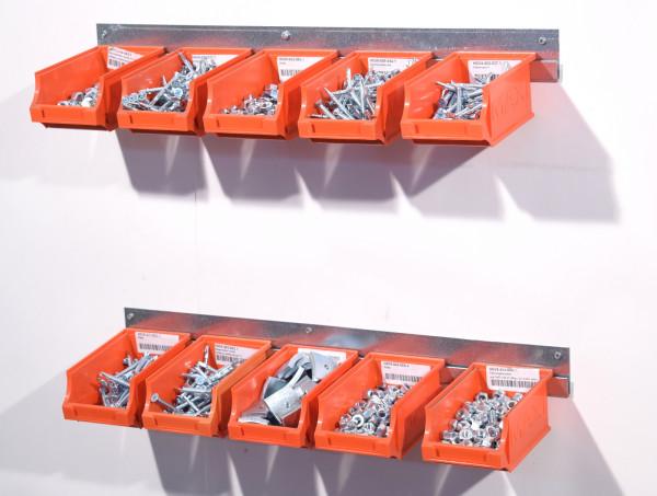 Metall-Wandschiene Montageschiene Stahlblech verzinkt