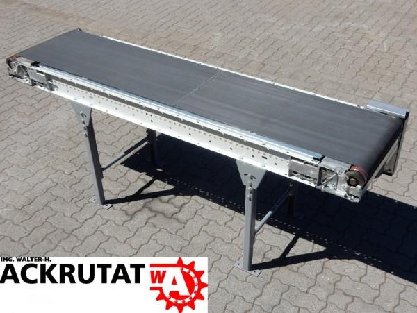 Gurtförderband Dematic Förderband Gurtförderer Rillengurt L2300 mm Transportbahn