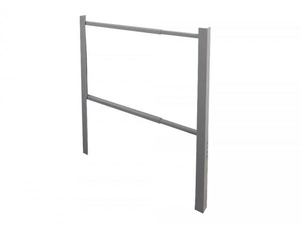 Seitenerhöhung 600 - 1100 mm Tiefe Palettenregal Rahmen Endständererhöhung