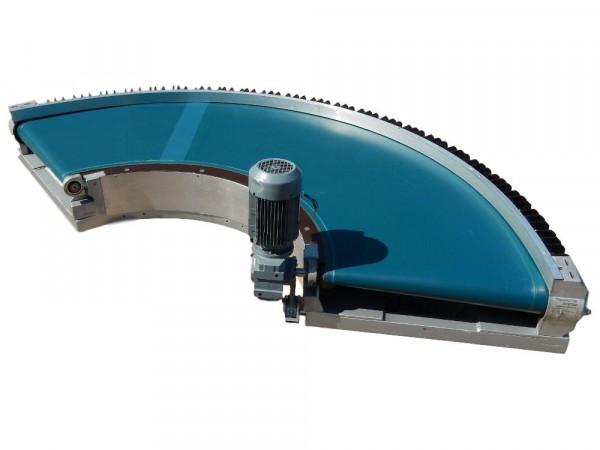 Gurtförderer Transnorm Kurvengurtförderer 135° Förderbandkurve Gurtkurve