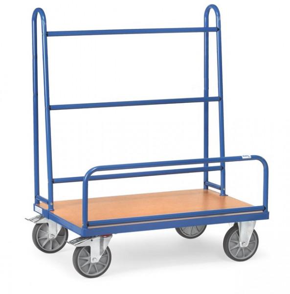 Fetra Plattenwagen 4413 Ladefläche 1.270 x 535 mm 600 kg mit festen Rohrbügeln